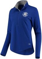 Under Armour Women's Royal Toronto Blue Jays Charged Cotton Half-Zip Pullover Jacket