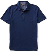Brooks Brothers Solid Jacquard Short-Sleeve Polo Shirt