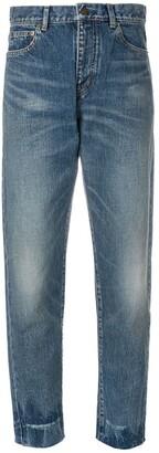 Saint Laurent High Waist Boyfriend Jeans