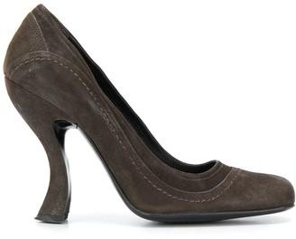 Prada Pre Owned 1990s Contoured Heel Pumps