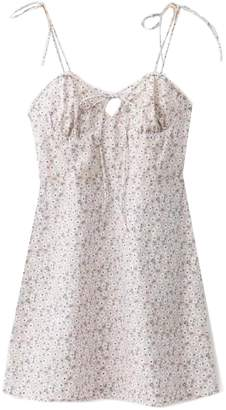 Goodnight Macaroon 'Kassidy' Floral Strapped Mini Dress (3 Colors)
