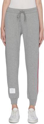 Thom Browne Stripe outseam sweatpants