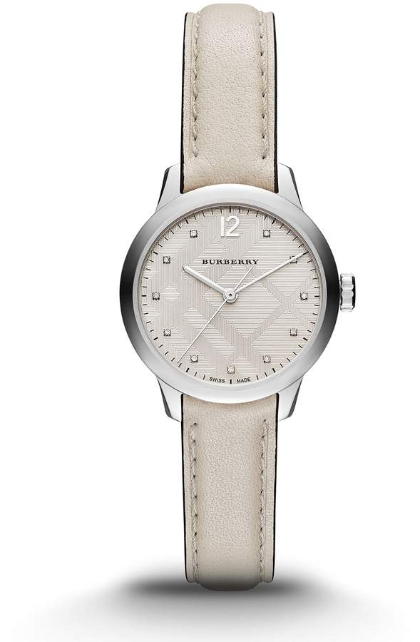 Burberry Women's BU10105 Swiss Made Diamond Watch