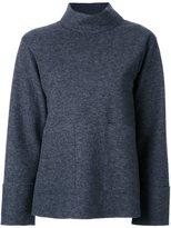 ASTRAET overlay detail sweatshirt