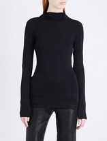 Dion Lee Pinacle Balaclava knitted jumper