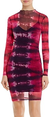 GUESS Nadine Tie-Dyed Dress