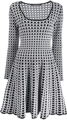 Valenti Antonino graphic print dress