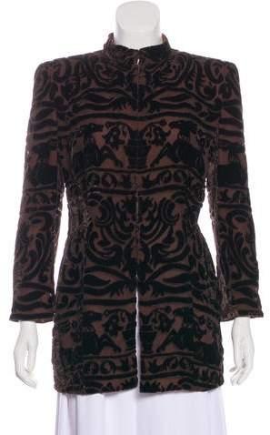 Giorgio Armani Lightweight Velvet Jacket