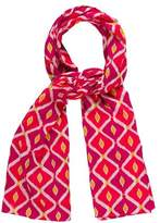 Tory Burch Woven Abstract Printed Scarf