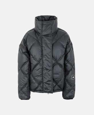 adidas by Stella McCartney Stella McCartney black short puffer jacket