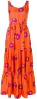 La DoubleJ sleeveless printed dress