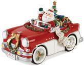 Fitz & Floyd Hand Painted Musical Santa