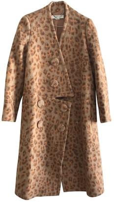 Stella McCartney Stella Mc Cartney Orange Wool Coat for Women
