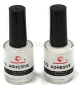 Star Nail Professional 2PCS Galaxy Art Glue for Foil Sticker Nail Transfer Tips Decorations Adhesive White 8ml