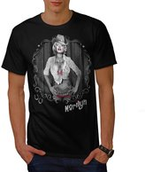 Marilyn Monroe Tattoo Gangster Men NEW XXXL T-shirt | Wellcoda
