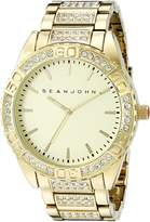 Sean John Men's 10021786 Sport Analog Display Analog Quartz Gold Watch