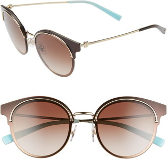 Tiffany & Co. 64mm Round Gradient Lens Sunglasses