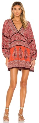 Free People Luna Scarf Print Tunic