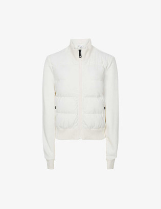 Reiss Ellis quilted woven jacket