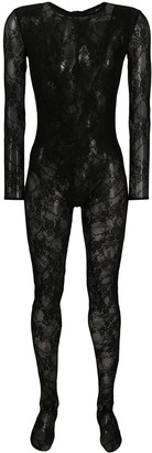 Almaz Fitted Lace Catsuit