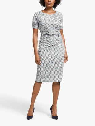 Max Mara Weekend Flou Jersey Dress, Jade/Multi