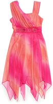 Sequin Hearts Girls' Ombre Sparkle Dress