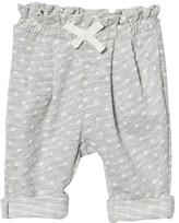 Gap Light Grey Jacquard Dot Pants
