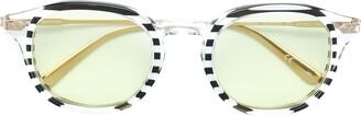 Calvin Klein Jeans Striped Glasses
