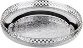 Corbell Silver Company Inc. Silver-Plated Round Serving Tray