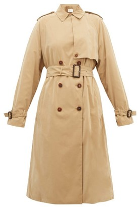 The Row Triana Double-breasted Trench Coat - Beige