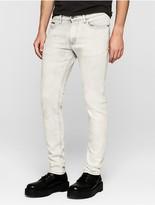 Calvin Klein Skinny Bleached Fog Grey Jeans