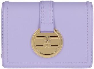Elisabetta Franchi Logo Pendant Small Shoulder Bag