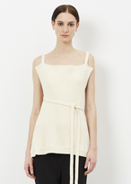 Marni Antique White Tank Top
