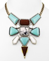 BaubleBar Dreamcatcher Collar Necklace, 11""