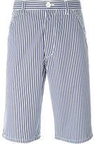 Comme des Garcons poplin striped shorts
