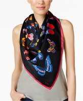 Echo Butterfly Silk Square Scarf