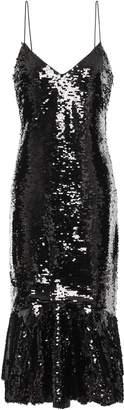 Sachin + Babi Evren Sequined Tulle Midi Dress