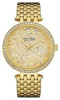 Caravelle New York by Bulova Women's Gold-Tone Stainless Steel Bracelet Watch - 44L184