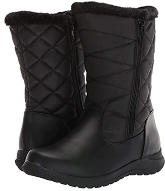 Tundra Boots Becca Wide (Black) Women's Boots