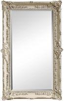 Bassett Mirror Rococo Floor Mirror, White