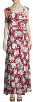 Privacy Please Petro Floral-Print A-Line Maxi Dress, Celine