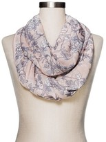 Merona Women's Fashion Floral Scarf Pink
