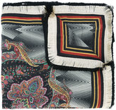 Etro paisley print scarf