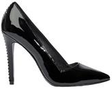 Alice + Olivia Black Dina Patent Heel