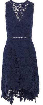 Joie Bridley Cutout Cotton Guipure Lace Mini Dress