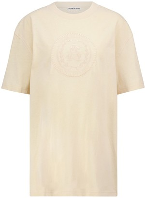 Acne Studios Embroidered cotton T-shirt