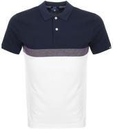 Gant Tech Prep Rugger Polo T Shirt Blue