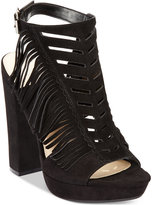 Bar III Nero Fringe Dress Sandals, Only at Macy's