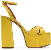 L'Autre Chose chunky-heel platform sandals