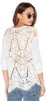 Generation Love Nyla Embroidered Top in White. - size S (also in )